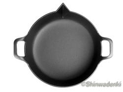 南部鉄器 天ぷら鍋平底25